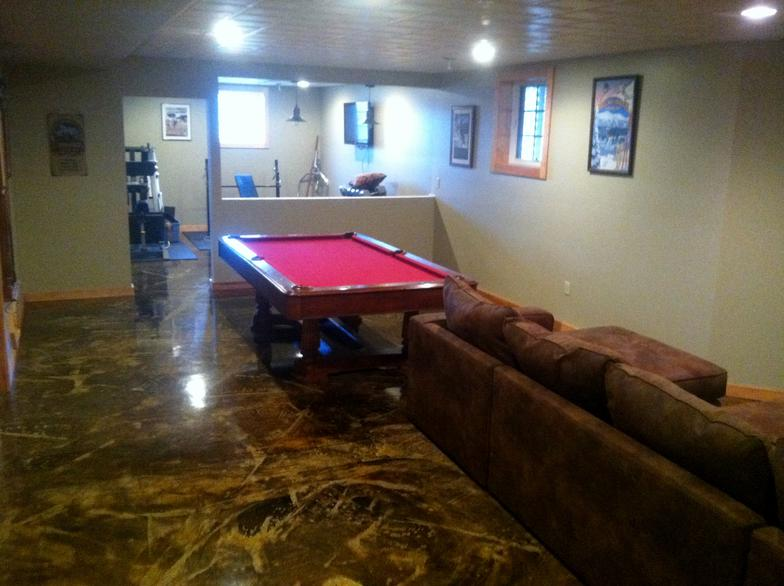 decorative concrete flooring dublin ohio 43016
