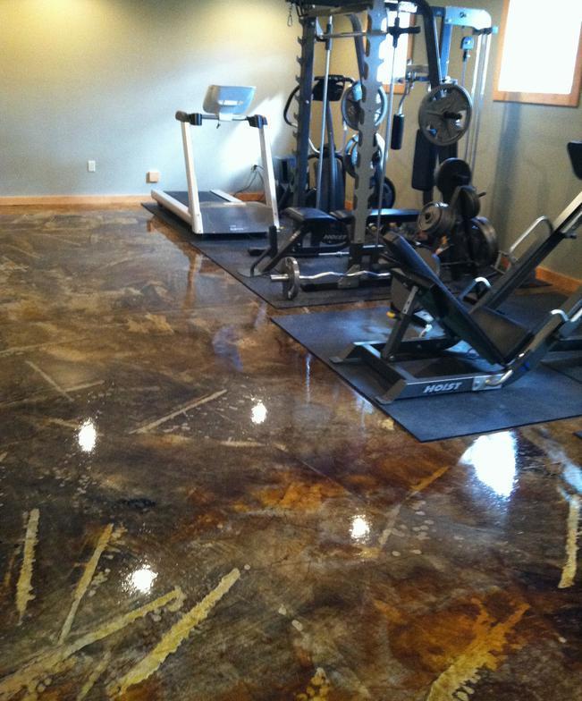 decorative concrete flooring dublin ohio 43016